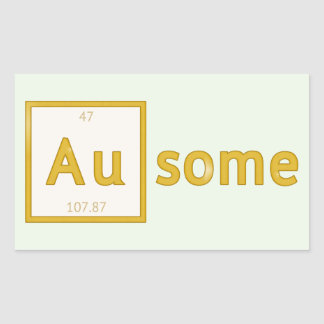 Au-some Customizable Stickers