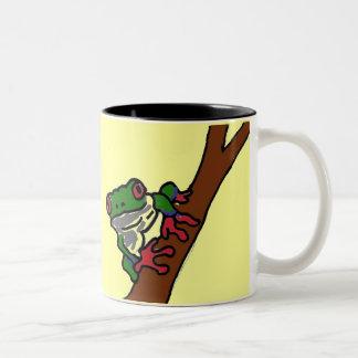 AU- Tree frog mug