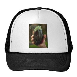 Aubergine/Eggplant Hat