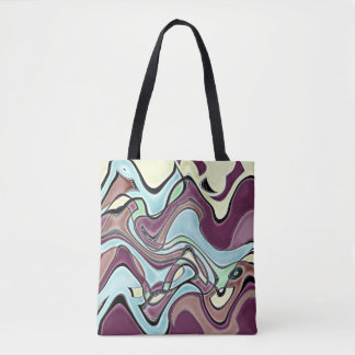 Aubergine Tote Bag
