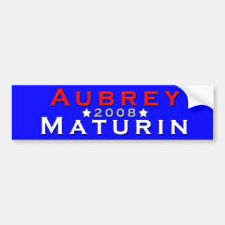 Aubrey / Maturin 2008 Bumper Sticker