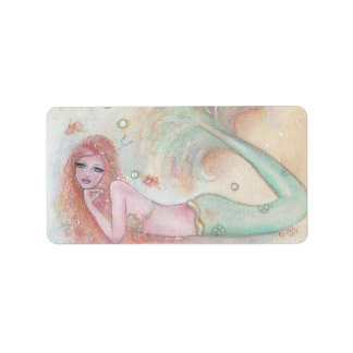 Aubrey sweet mermaid stickers By Renee