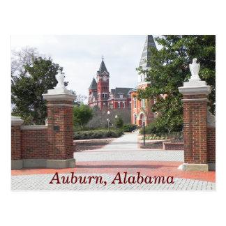 Auburn Alabama -- postcard