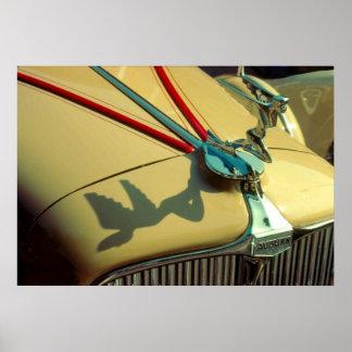 Auburn Speedster radiator ornament Poster