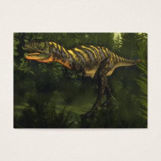 Aucasaurus dinosaur - 3D render Business Card