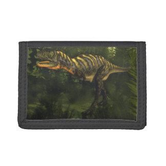Aucasaurus dinosaur - 3D render Tri-fold Wallet