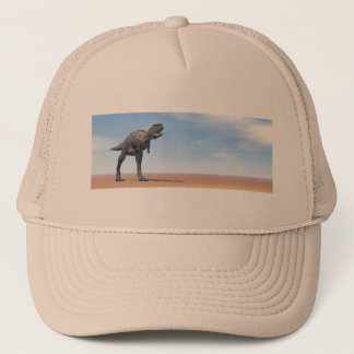 Aucasaurus dinosaur in the desert - 3D render Trucker Hat