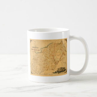 Auckland 1863 coffee mug