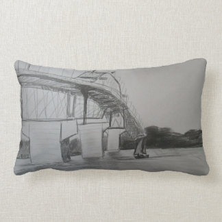 auckland bridge cushion