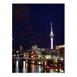 Auckland City, New Zealand at Night