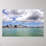 Auckland City, New Zealand by Matthew Jones Posters