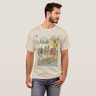Auckland Cityscape Men's T-Shirt