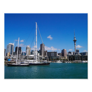 Auckland Harbour, New Zealand - Photo Print