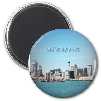Auckland, New Zealand skyline Magnet