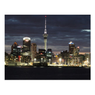 Auckland @ Night Postcard
