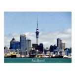 Auckland Skyline Postcard