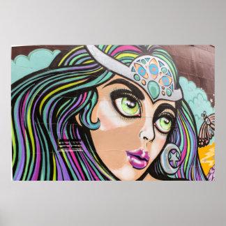 Auckland street art / grafitti poster