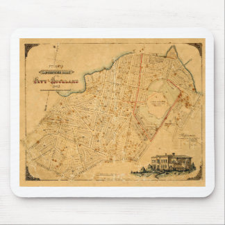 aucklandcity1863 mouse pad