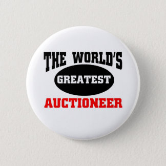 Auctioneer 6 Cm Round Badge
