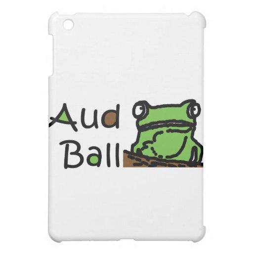 Aud Ball Frog logo iPad Mini Cover