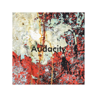 Audacity Canvas Print