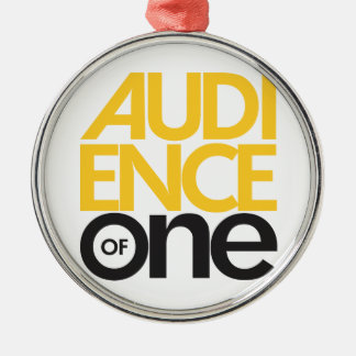 Audience of One Ornament
