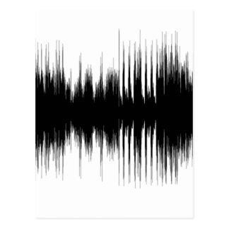 Audio Aural Ear Hearing Music Musical Recording.pn Postcard