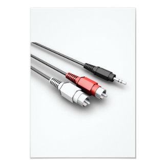 Audio Cables Invitations
