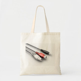 Audio Cables Tote Bag
