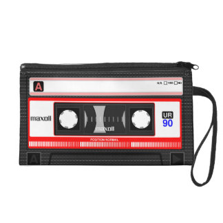 Audio casette tape wristlet