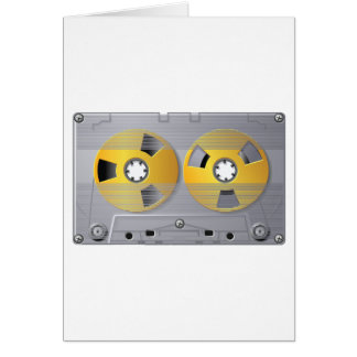 Audio Cassette Tape Greeting Cards