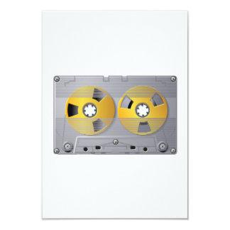 Audio Cassette Tape Invitations
