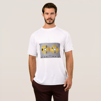 Audio Cassette Tape Mens Active Tee