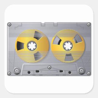 Audio Cassette Tape Stickers