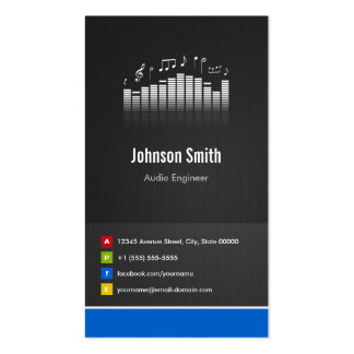 Audio Engineer - Premium Creative Innovative Pack Of Standard Business Cards