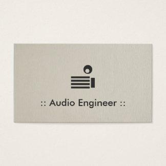 Audio Engineer Simple Elegant Professional