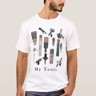 Audio Engineer Tools T-Shirt