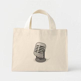 Audio Input Microphone Mini Tote Bag