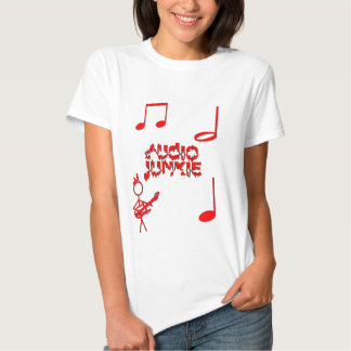Audio-Junkie Tee Shirt