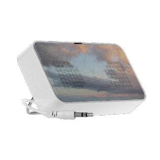Audio loudspeaker sky and clouds notebook speakers