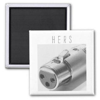 Audio Lover Female XLR Magnet