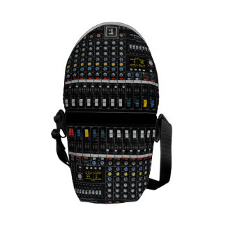 Audio Mixer pattern Commuter Bag
