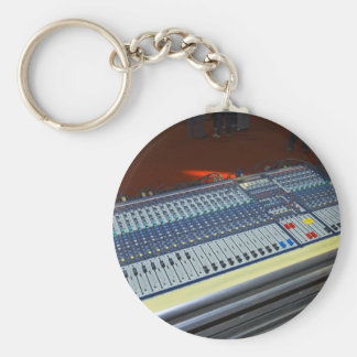 audio mixing console - sound board key ring