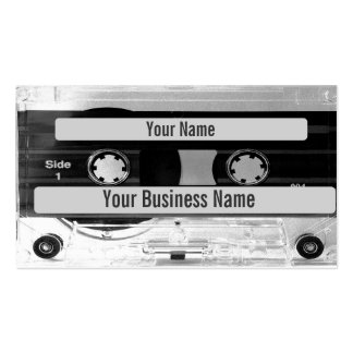 Audio Music Cassette Tape Business Card Business Cards