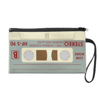 Audio tape cassette wristlets