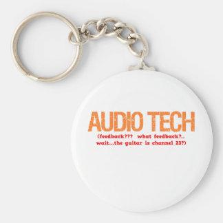 Audio Tech Description Key Ring