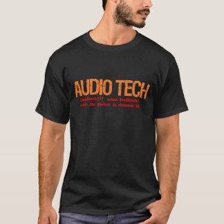 Audio Tech - Job Description Shirt