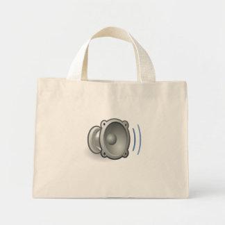 Audio Volume Medium Mini Tote Bag
