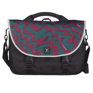 Audio waves bag for laptop