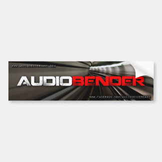Audiobender band bumper sticker! bumper sticker